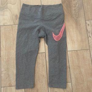 Nike Gray Crops